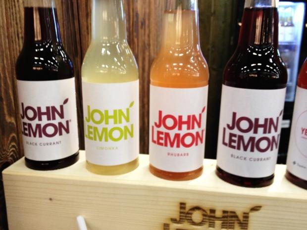 Limonadenflaschen