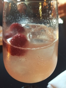 Cocktail Sparkling Berries